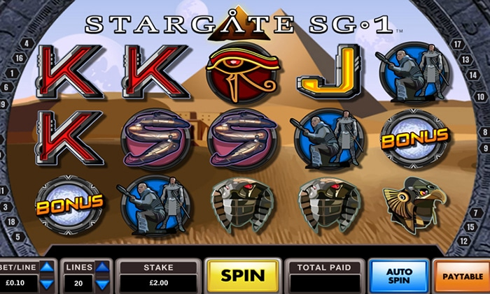 Trucchi Slot Machine Egypt Stargate