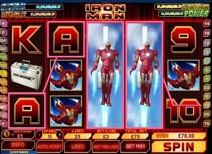 Trucchi Slot Machine Iron Man