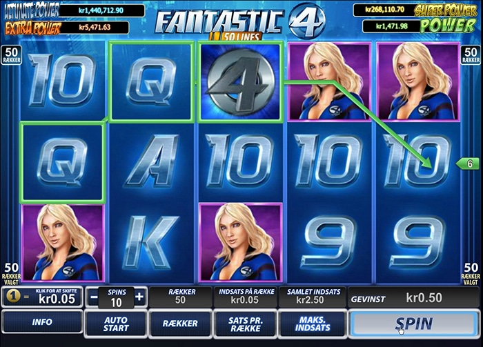 Trucchi slot machine Fantastici 4