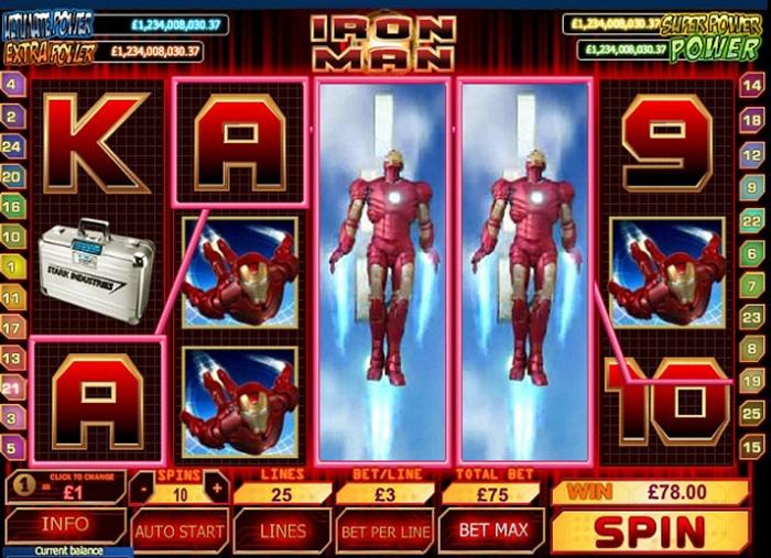 Trucchi Slot Machine Iron Man