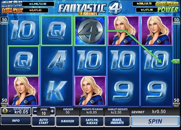 Trucchi slot machine Fantastici 4